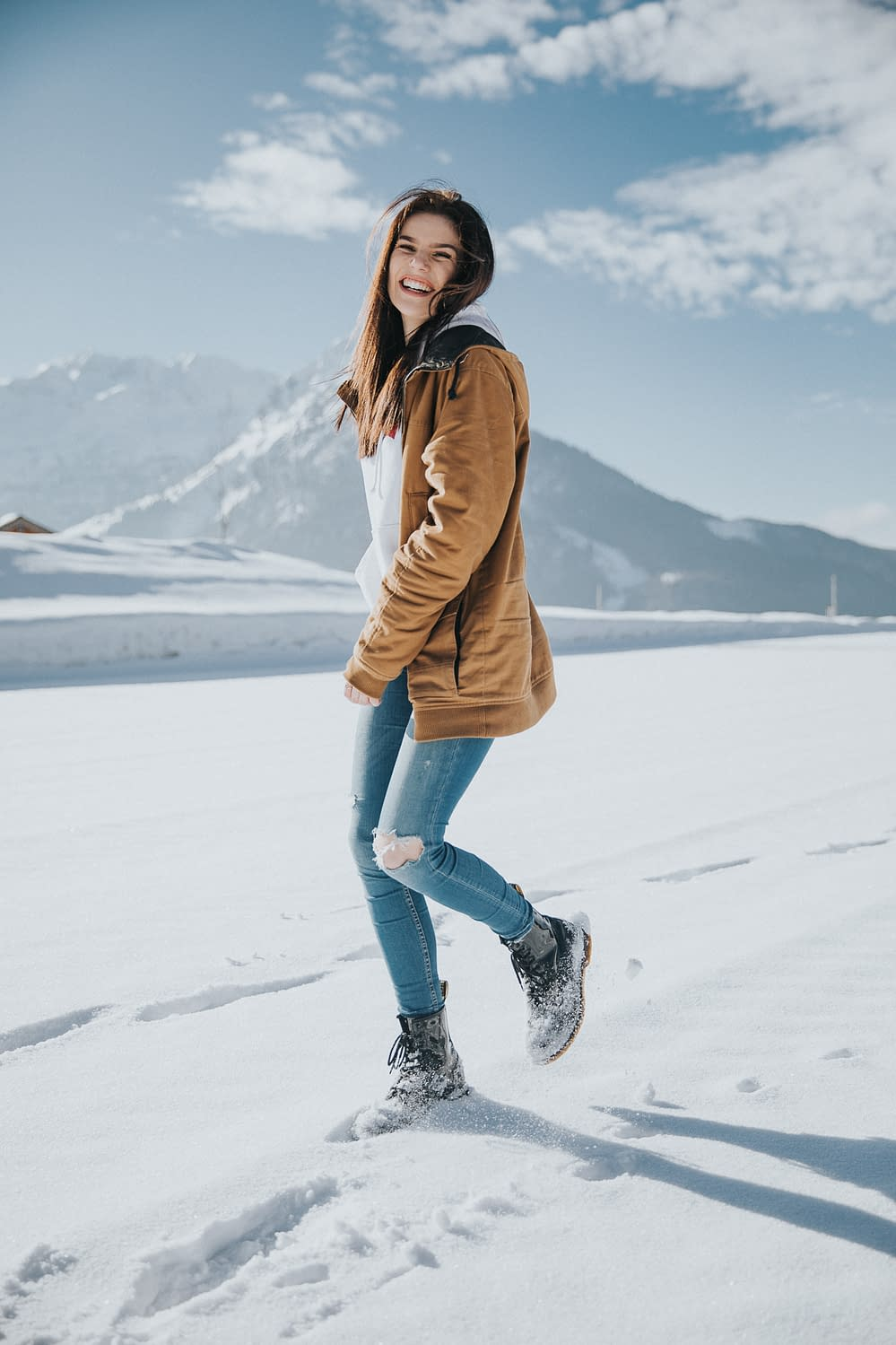 Lifestyle - Winter Natur Portrait Lejla