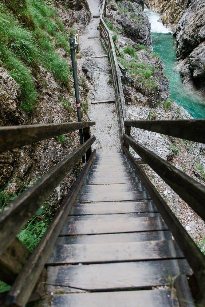 Lammerklamm - Weg