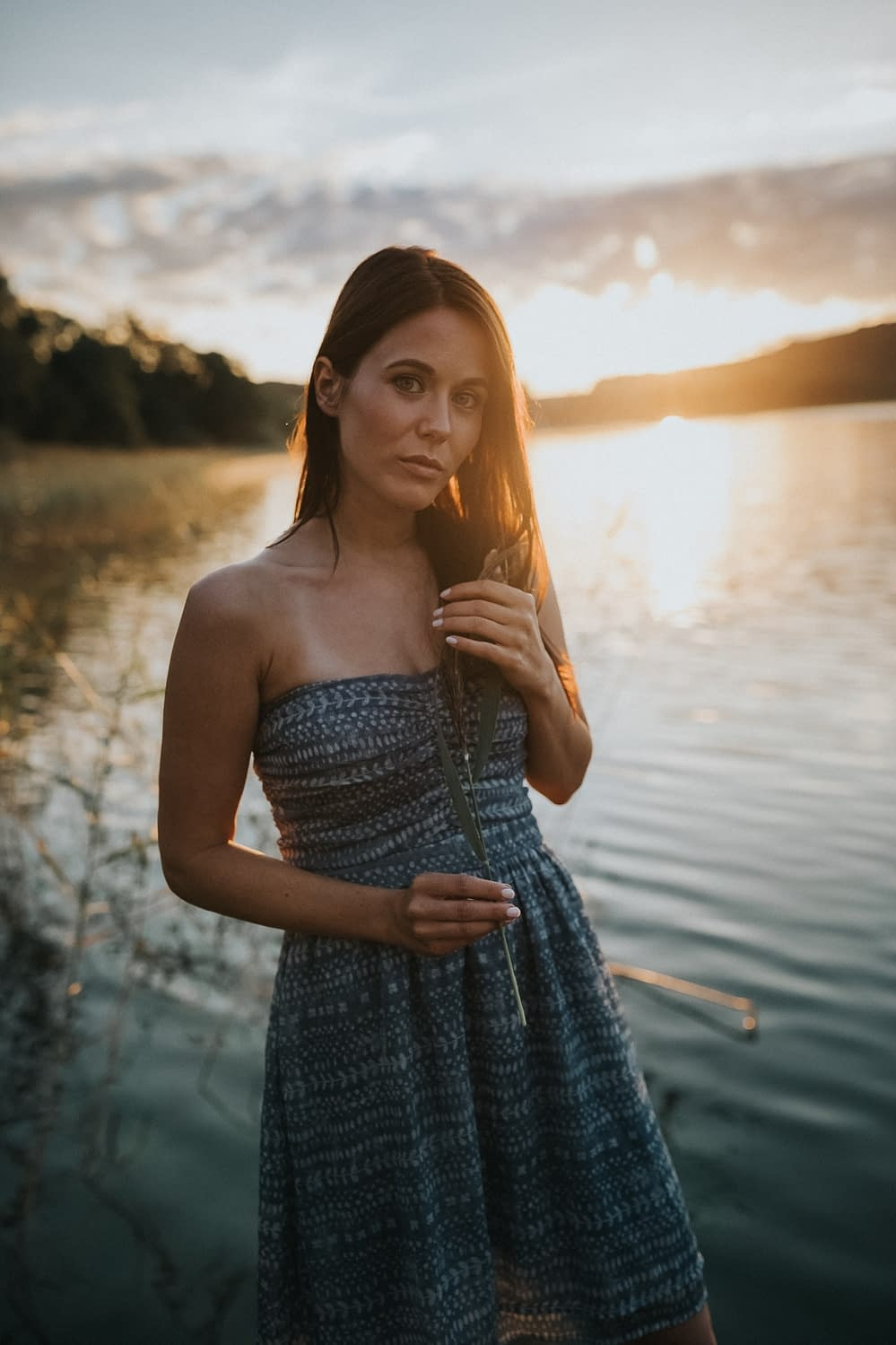 Sunrise Portraits at lake Mattsee