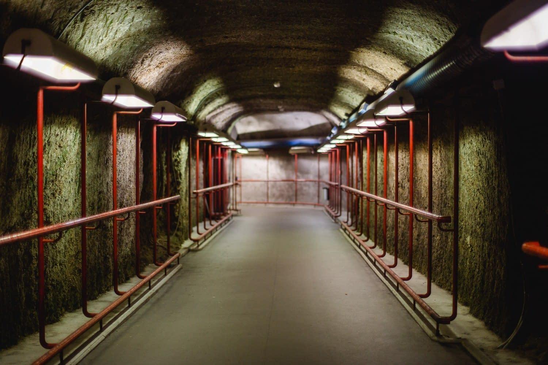 Mönchsbergtunnel - Testbild Zuiko AUTO-S 50mm f/1.2