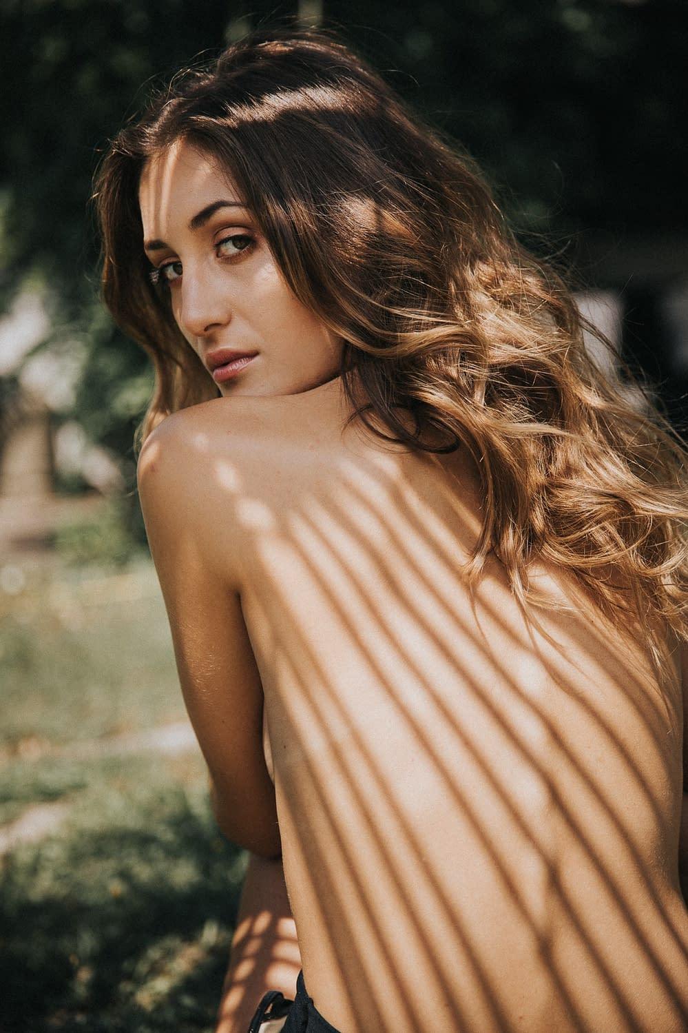 summer Portrait Nicole - Model Test