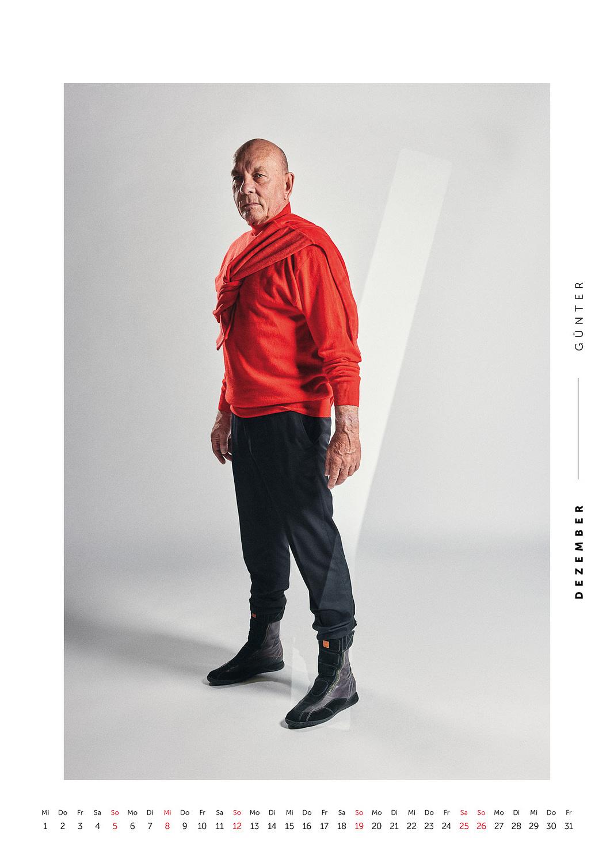 Dezember - Volkshilfe Fashion Kalender 2021 - Günter