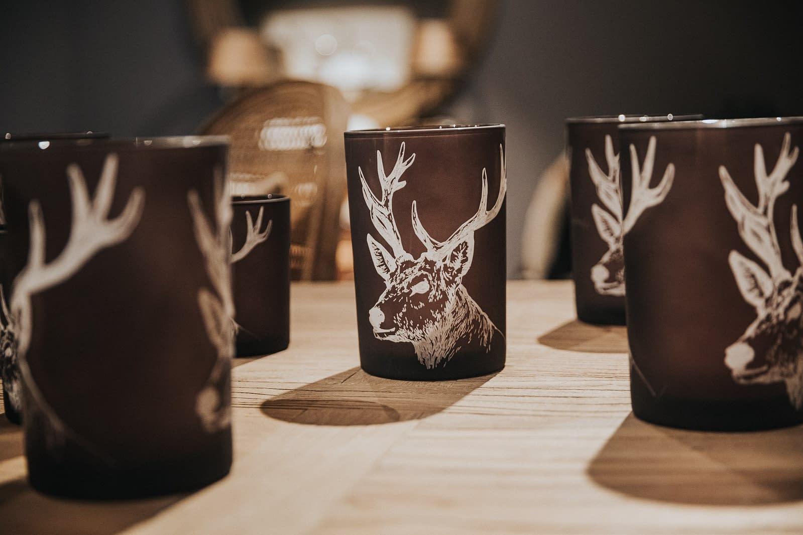 Kerzenbehälter - Weihnachtsdekoration