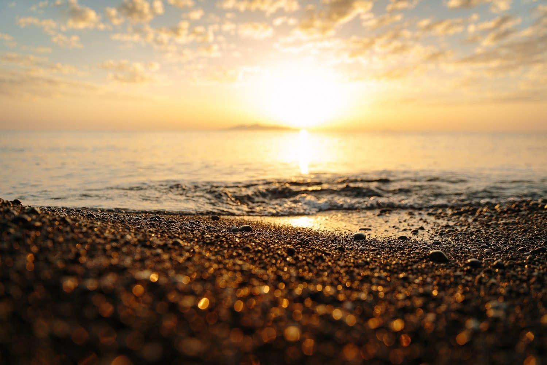 Sonnenaufgang in Kamari