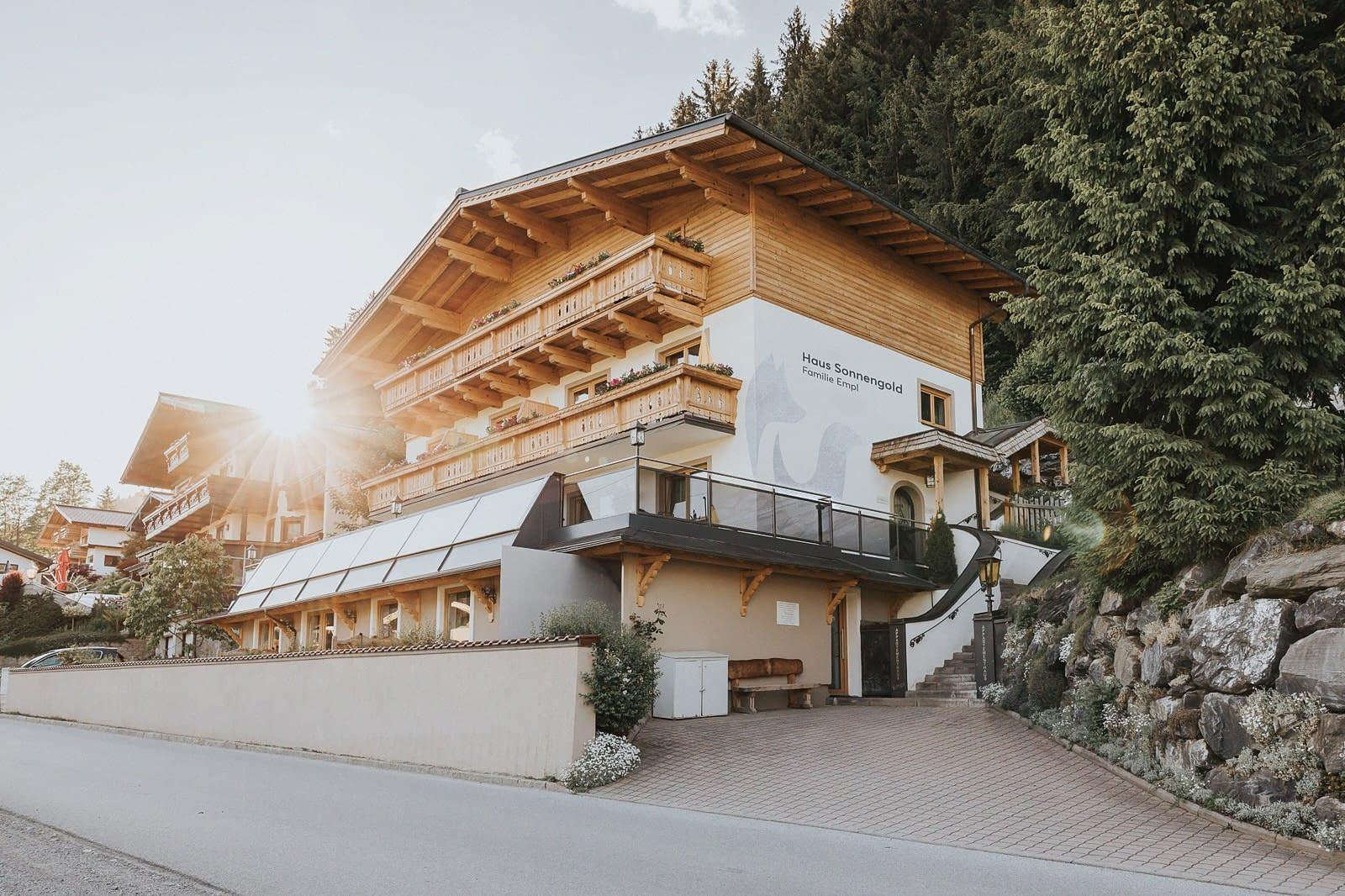Außenansicht Haus Sonnengold