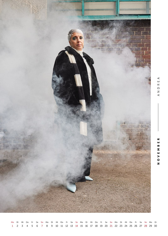 November - Volkshilfe Fashion Kalender 2021 - Andrea