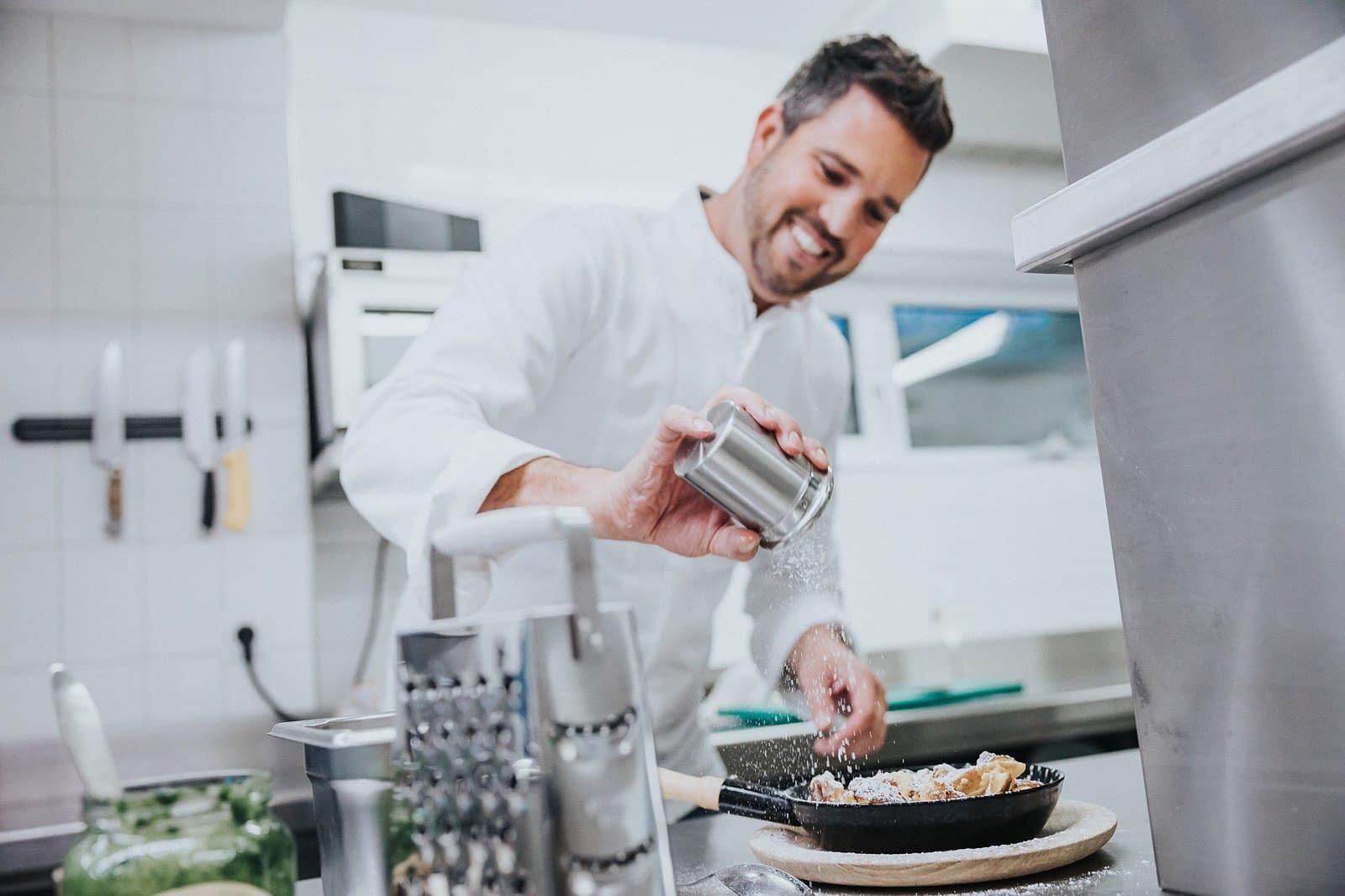 Küche - Hotel Fotografie - Silberfux