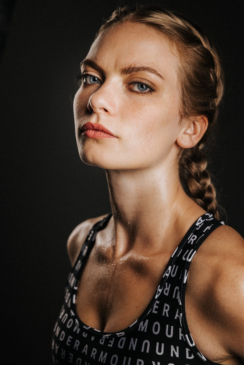 Deelia Studio Portrait - Under Armour