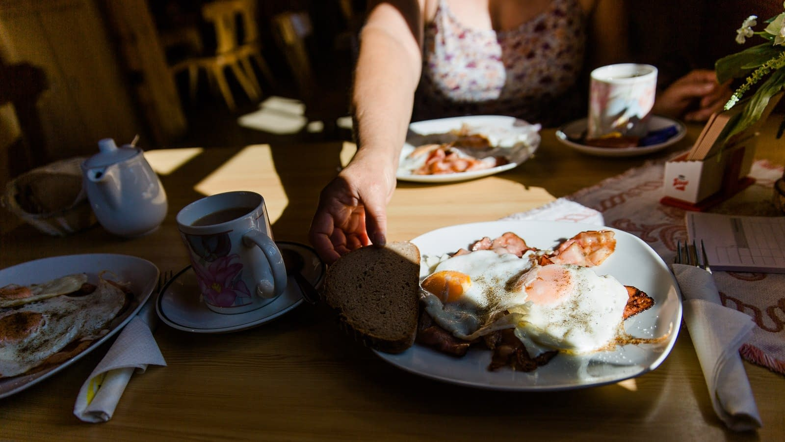 Frühstück Tappenkarseehütte