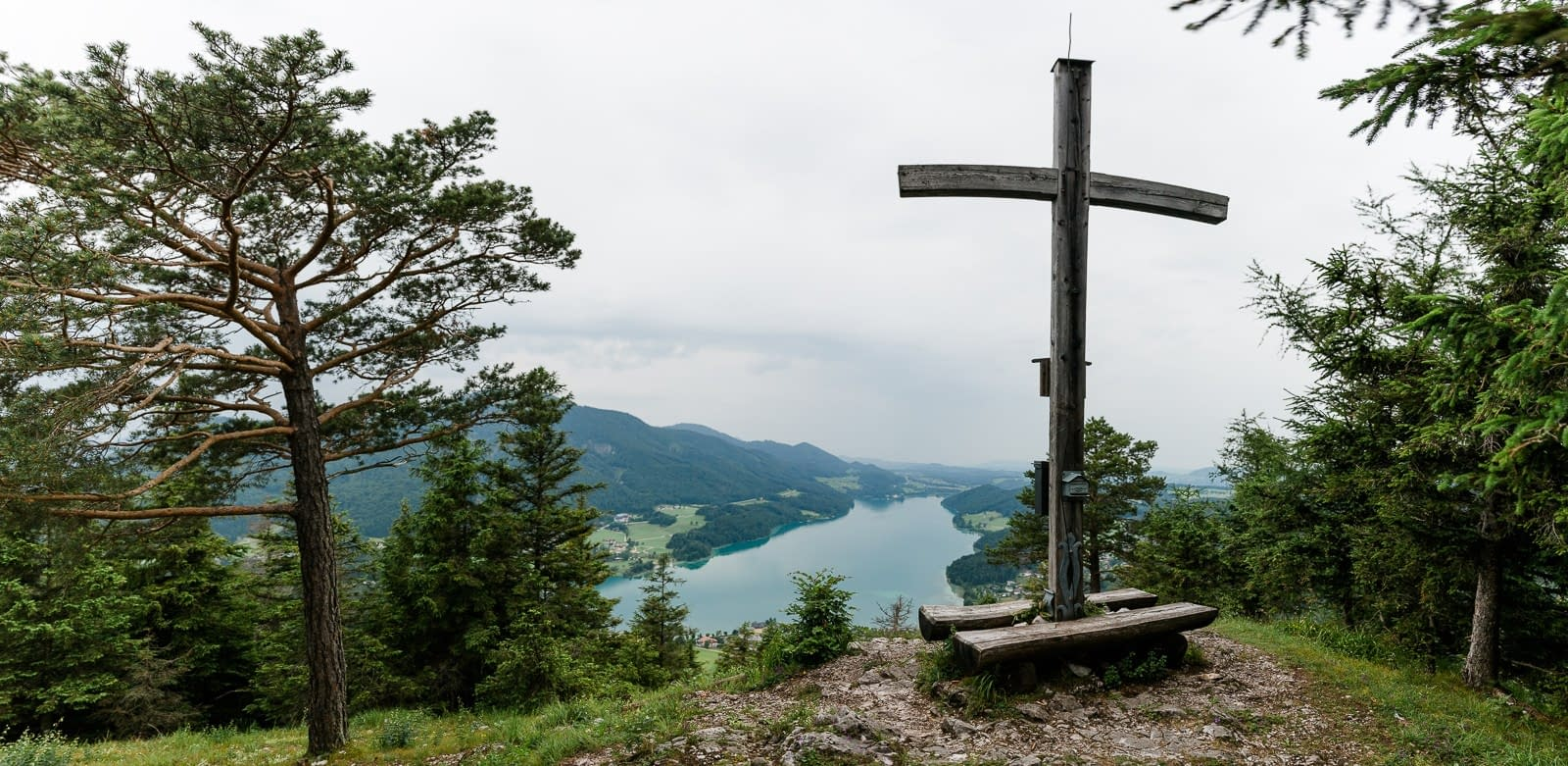 Ellmaustein Gipfelkreuz