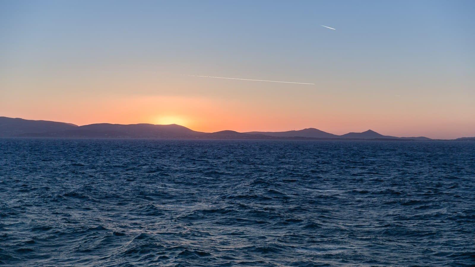 Sonnenuntergang, Naxos