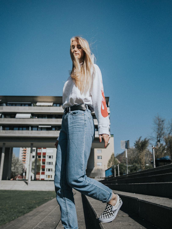 Street Lifestyle Portrait Sophie