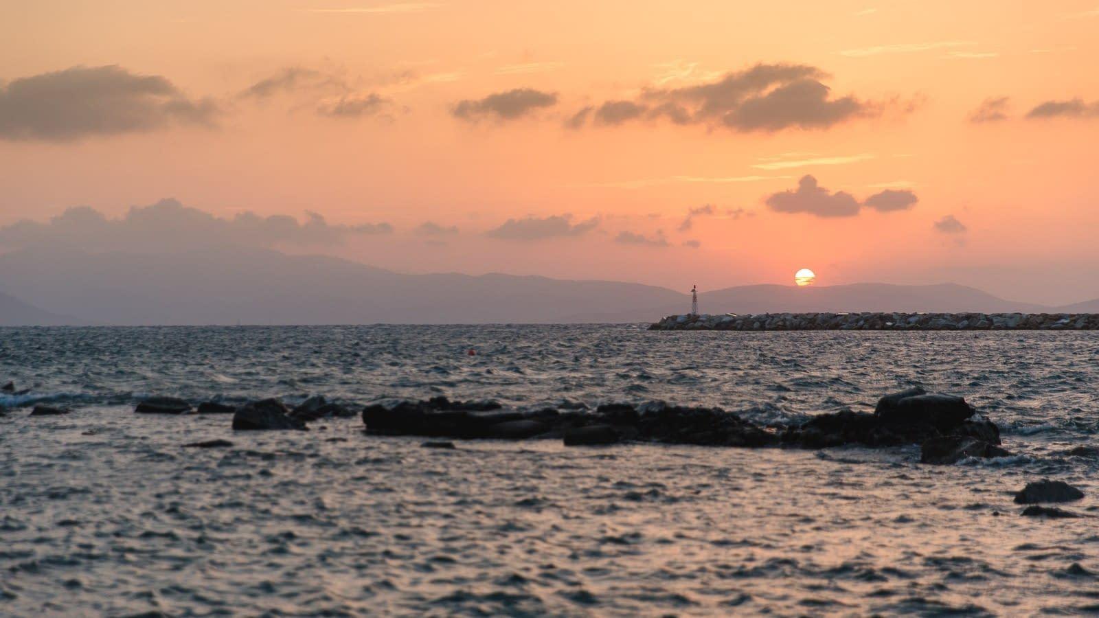 Sonnenuntergang Naxos