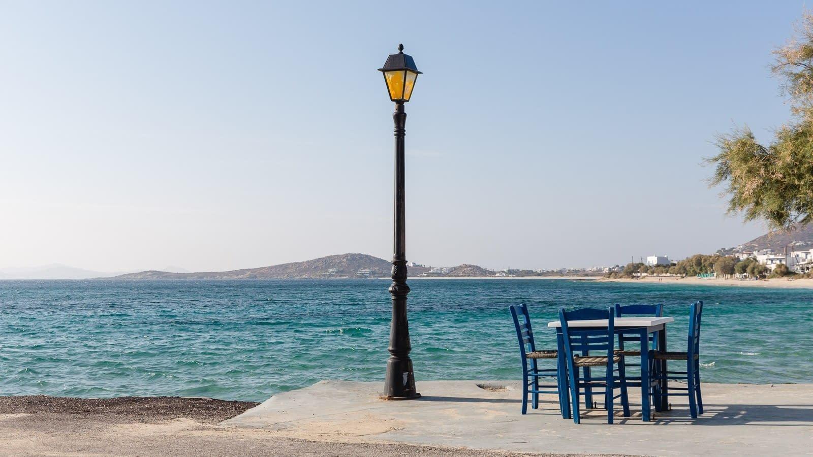 Am Hafen von Agia Anna