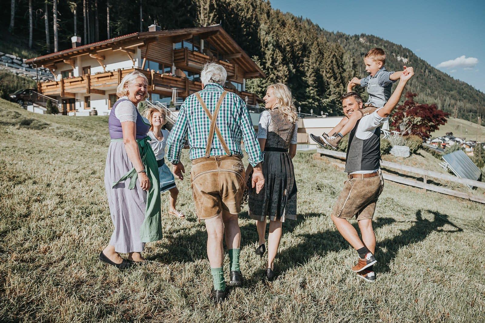 Familien Portrait - Hotel Fotografie - Silberfux