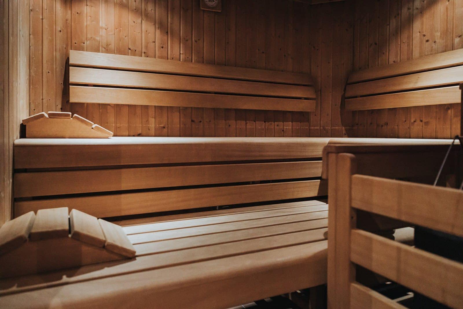 Sauna - Hotel Fotografie - Silberfux