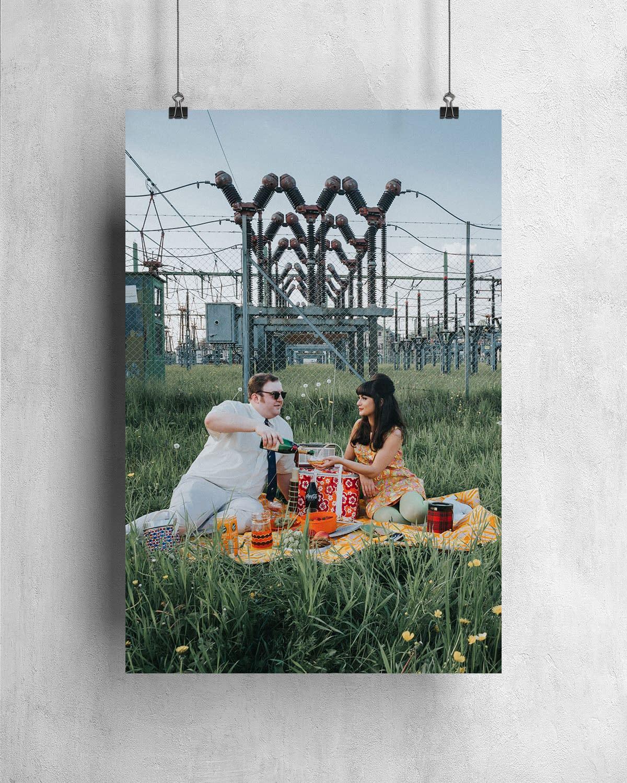 Poster - Energized Picknick - 1960-07-05