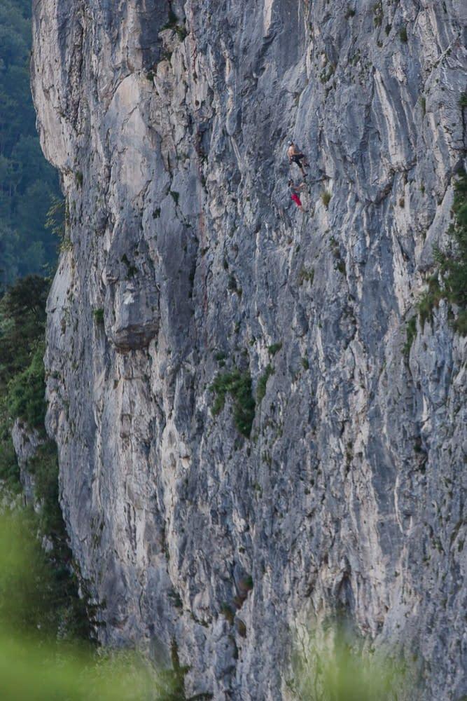 Klettern am großen Barmstein