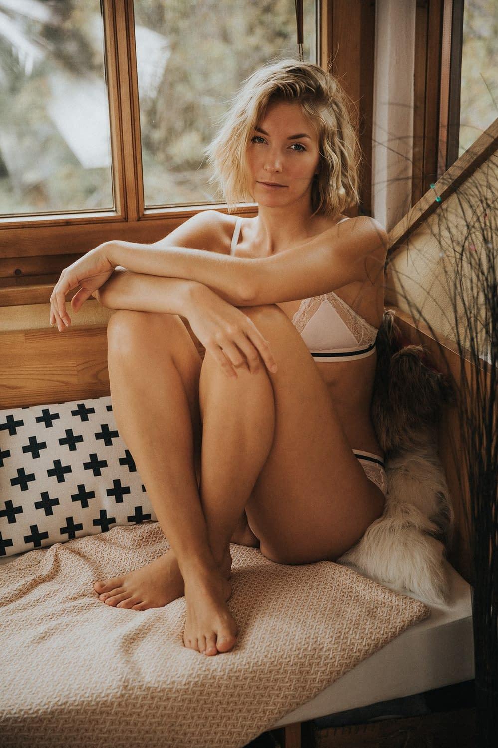 Helena Lingerie Portrait
