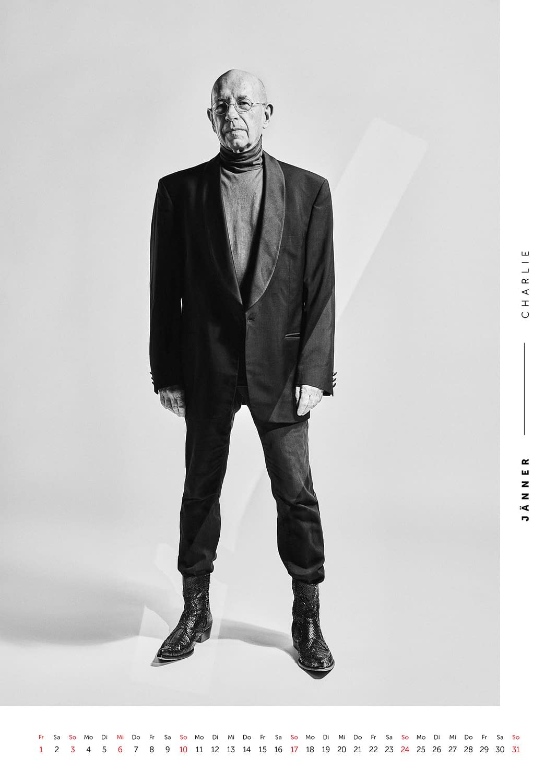Jänner - Volkshilfe Fashion Kalender 2021 - Charlie