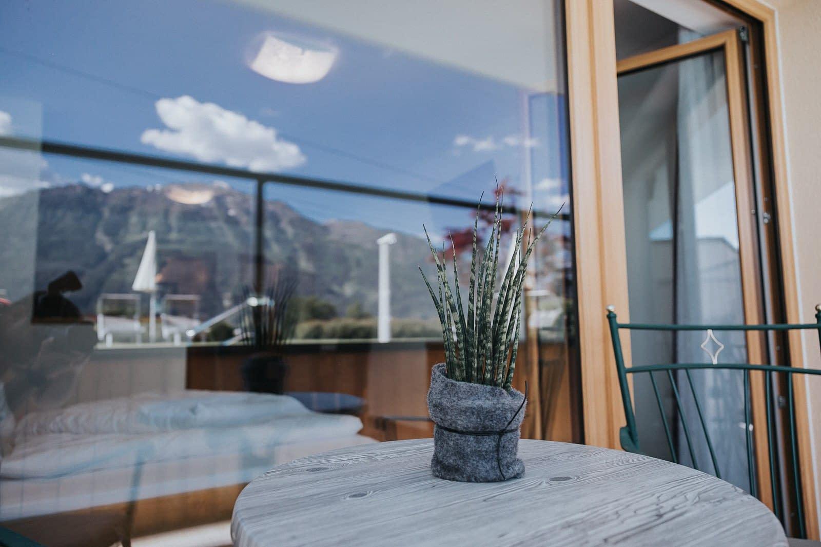 Balkon - Hotel Fotografie - Silberfux