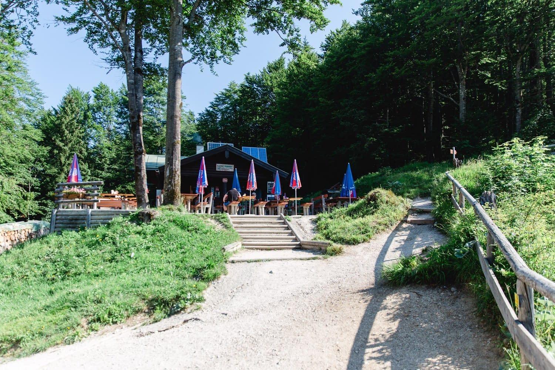 Grünsteinhütte (1.220m),