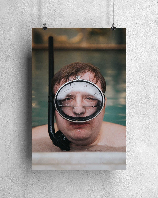 Poster - Underwater Smile - 1960-10-05